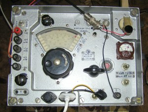 Передняя панель доработанного Р-311 US5MSQ