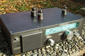 Трехламповый трехдиапазонный приёмник коротковолновика US5MSQ