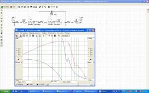 Моделирование ФНЧ на магнитофонной ГУ