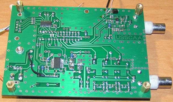 Монтаж формирователя частотных меток US5MSQ