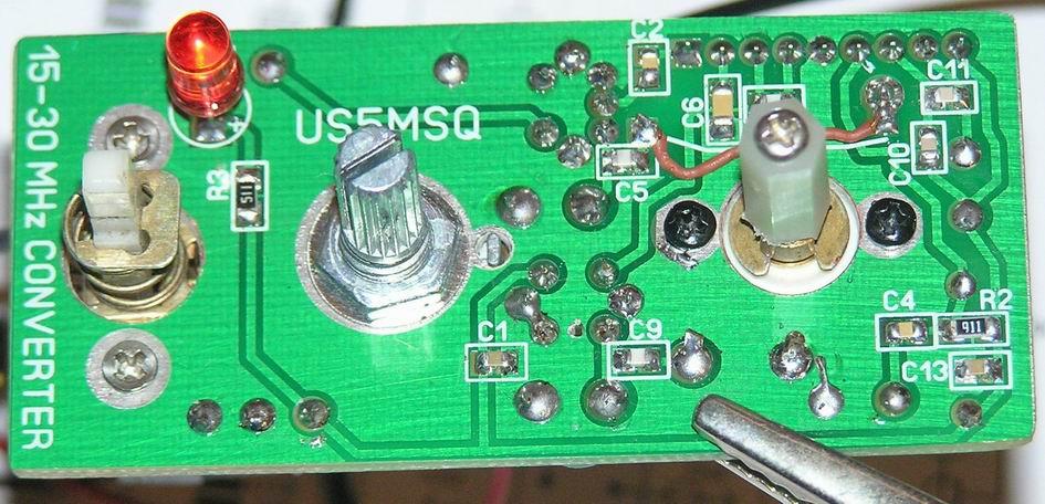 Вид со стороны монтажа конвертера US5MSQ